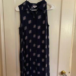 Splendid sleeveless shirt dress